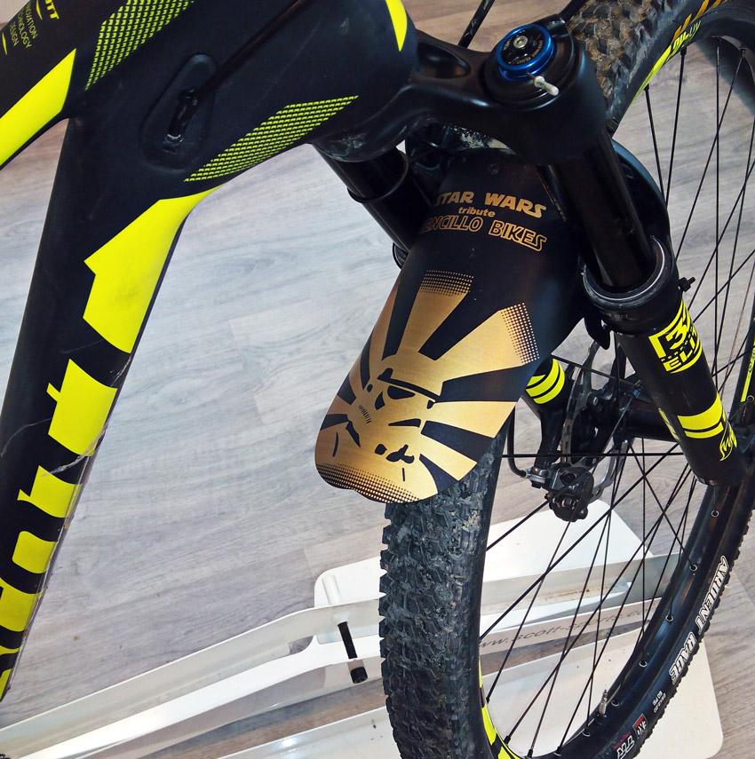 para Guardabarros de Bicicleta de 16 a 28 Pulgadas Apto para Guardabarros de Bicicleta de monta/ña Delanteros o Traseros 1 Juego de Guardabarros Combinados LS LETONG SINIAN Guardabarros MTB