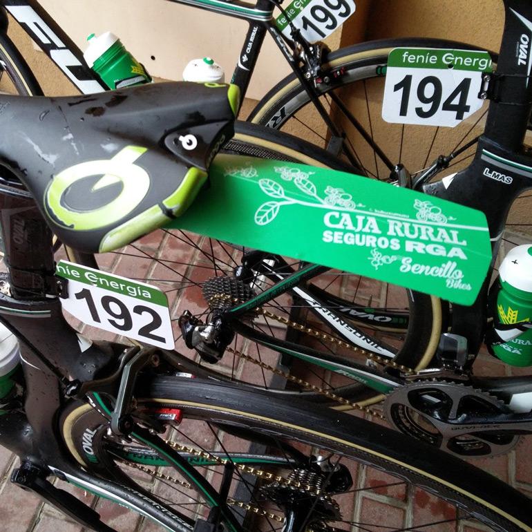 guardabarros caja rural vuelta ciclista españa