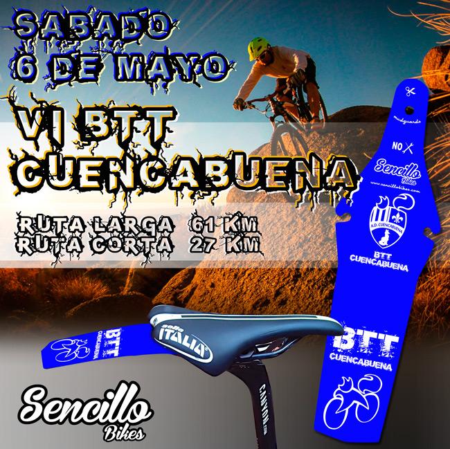 Guardabarros edición especial carrera ciclista Cuencabuena