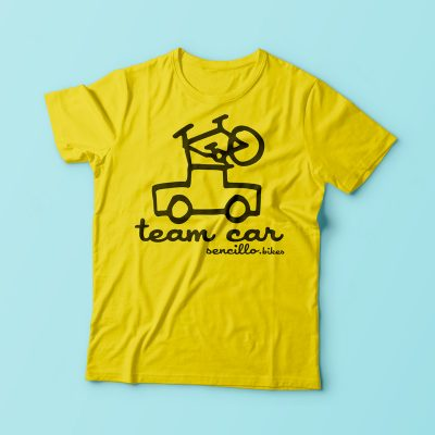 cycling t-shirt team car