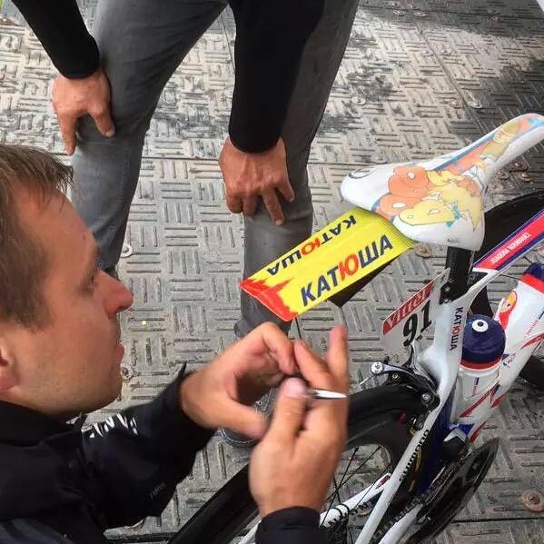 Katusha alpecin gardeboue Tour de France