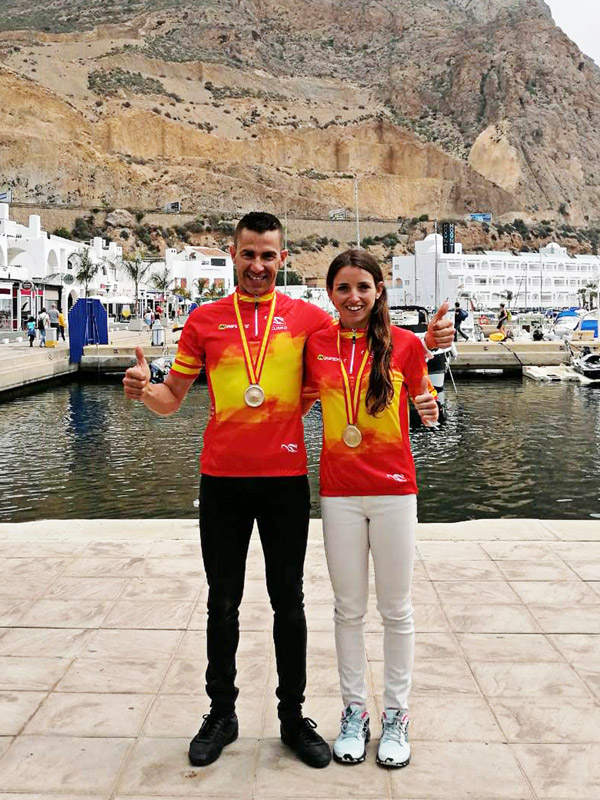 ciclismo ultradistancia Clara Payán campeones de España 12h