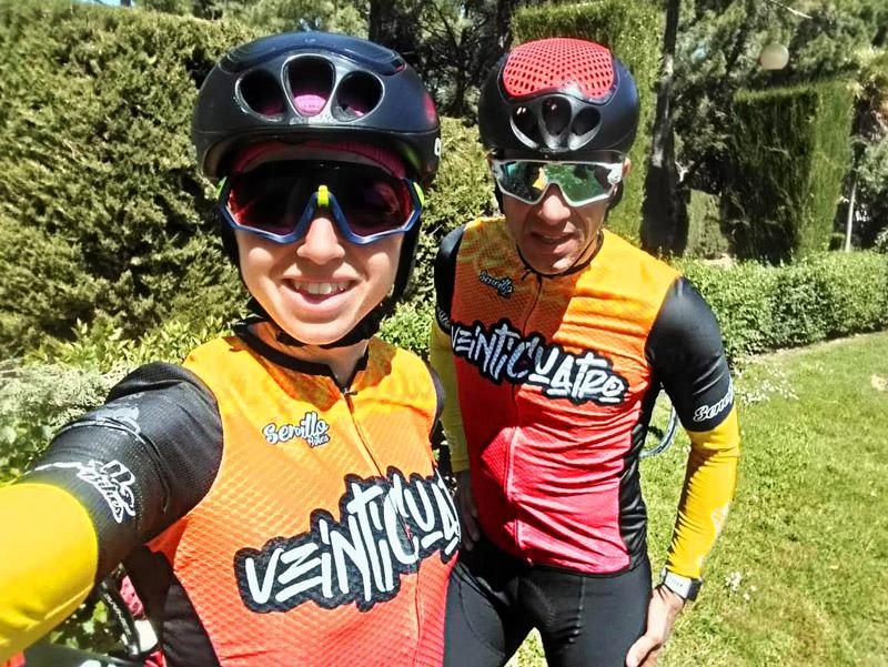 ciclismo ultradistancia  campeones  de España