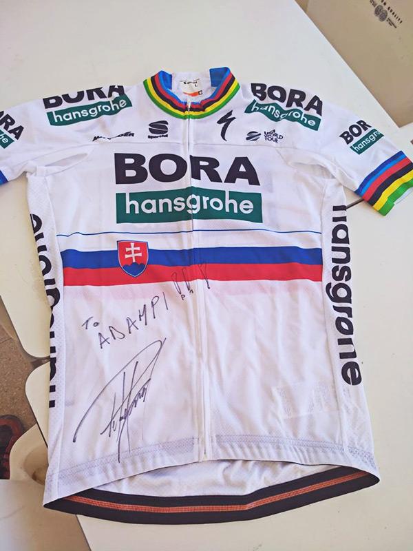 Peter Sagan maillot Bora